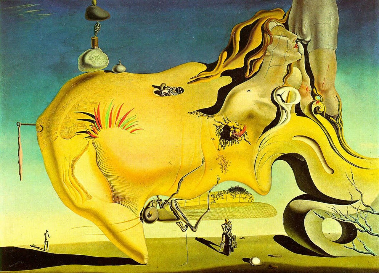 The Great Masturbator (1929) by Salvador Dalí