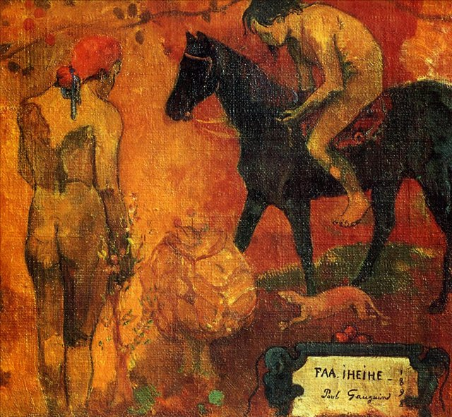 Faa Iheihe (1898) by Paul Gauguin