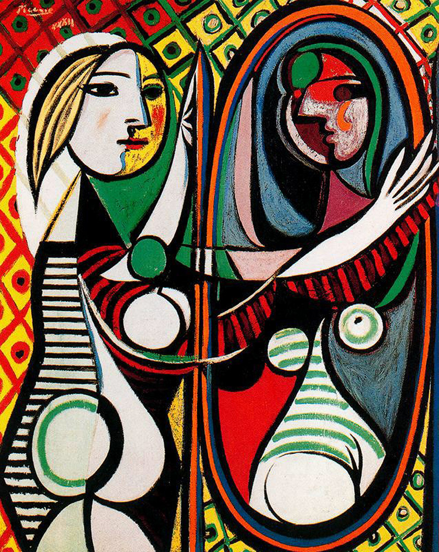 Girl before a Mirror (1932) by Pablo Picasso