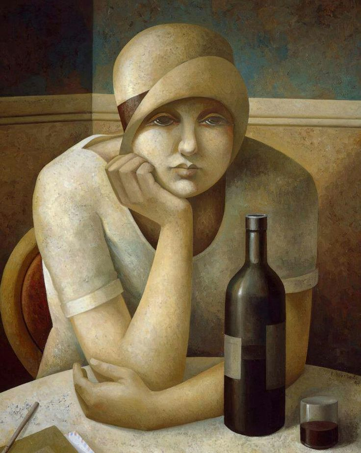 A female portrait (2003) by Fabio Hurtado